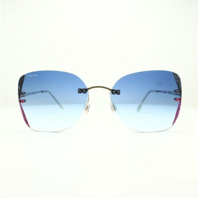 Freddie Mercury s17 c313 Antirefle Çerçevesiz Taşlı Güneş Gözlüğü