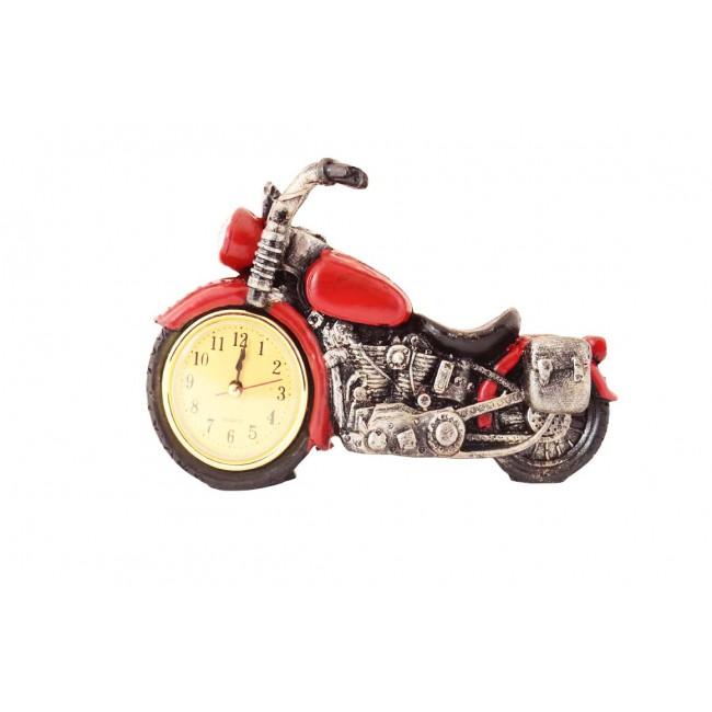Pysco py8924 Polyester Dekoratif Kırmızı Motor Masa Saati