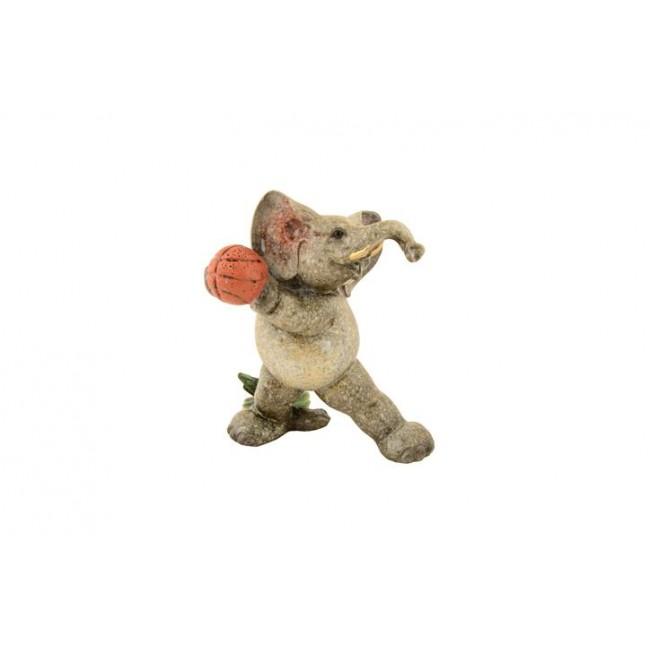 Pysco py8852 Polyester Basketbolcu ve Futbolcu  Fil Figürü