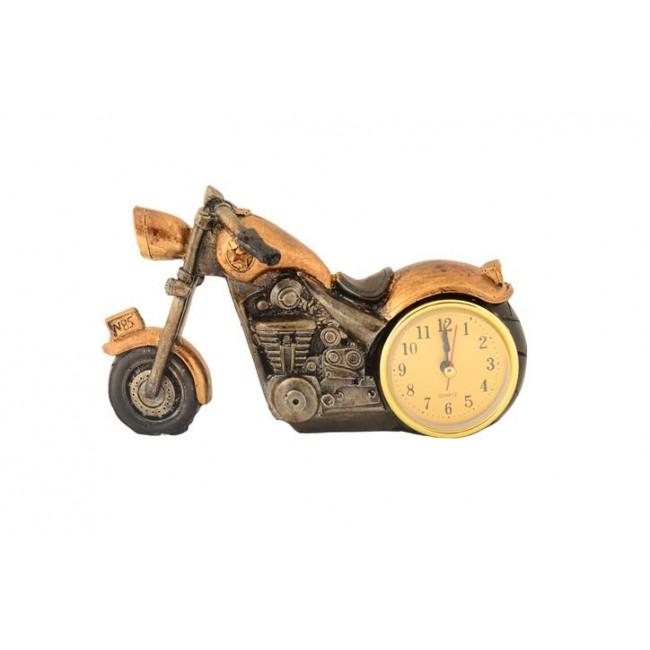 Pysco py8897 Polyester Dekoratif Gold Küçük Tekerli Motor Masa Saati