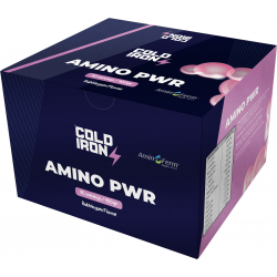 Cold Iron Sports Nutrition Amino PWR Pre BCAA 80 Adet