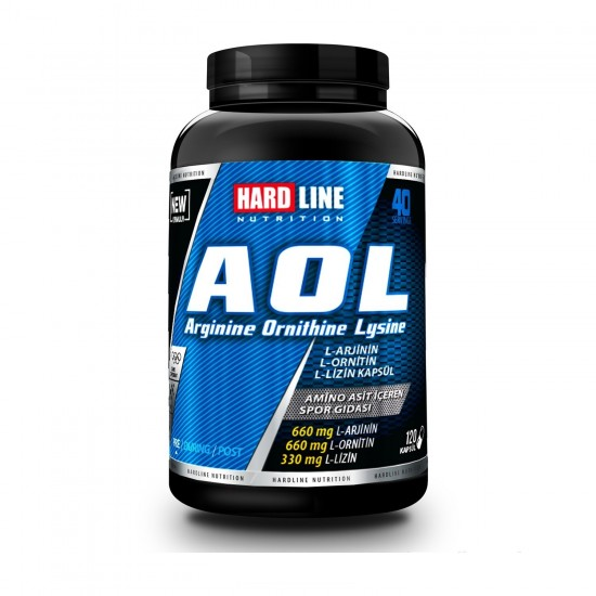 HardLine Nutrition Amino Asit AOL 120 KAPSÜL