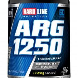 HardLine Nutrition Amino Asit ARG 1250 120 KAPSÜL