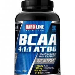 HardLine Nutrition Amino Asit BCAA 4:1:1 ATB6 120 TABLET