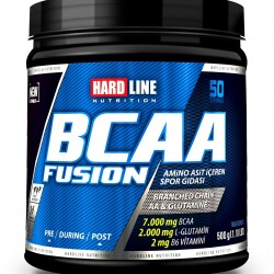 HardLine Nutrition Amino Asit BCAA FUSION Çilek 525 GR