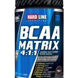 HardLine Nutrition Amino Asit BCAA MATRIX BOGURTLEN 630 GR