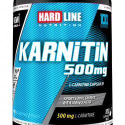 HardLine Nutrition L-Carnitine KARNITIN 100 KAPSÜL