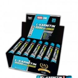 HardLine Nutrition L-Carnitine MATRIX 3000 MG LİMON 20 ADET (30 ML)
