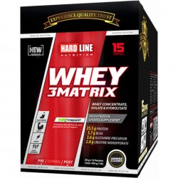 HardLine Nutrition Protein Tozu WHEY 3MATRIX MUZ 450 GR 30GRx15ADET