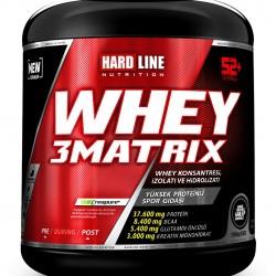 HardLine Nutrition Protein Tozu WHEY 3MATRIX TARÇINLI SAHLEP 2300 GR